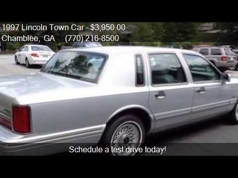 1997 Lincoln Town Car Executive For Sale In Chamblee Ga 303 Youtube