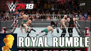 WWE 2K18 Exclusive Gameplay: Royal Rumble Match for the United Kingdom Championship