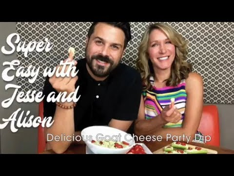 Easy Party Appetizer - Goat Cheese Dip Recipe