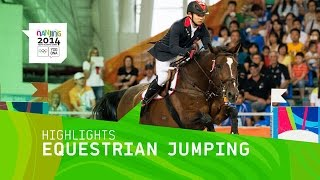 Emily Fraser Wins Individual Jumping Gold - Highlights | Nanjing 2014 Youth Olympic Games