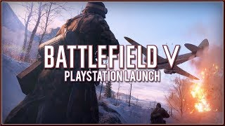BATTLEFIELD 5 - Official PlayStation LAUNCH PS4 Trailer (2018) HD