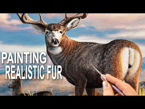 How To Paint Beautiful Fur