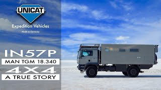 UNICAT Expedition Vehicle A dream comes true: New truck, different layout.