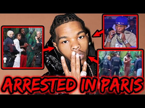LIL BABY ARRESTED FOR TRANSPORTING NARCOTICS IN PARIS