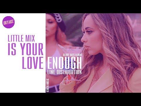 Little Mix ~ Is Your Love Enough ~ Line Distribution