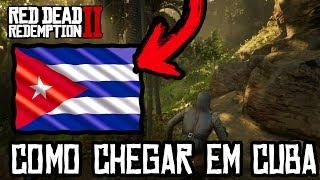 RED DEAD REDEMPTION 2 - AREA SECRETA, Como Chegar Em CUBA