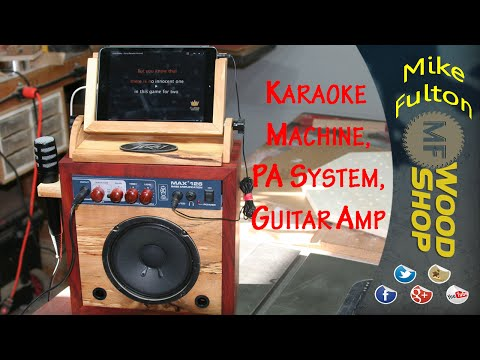 Karaoke Machine, Guitar Amp and PA System