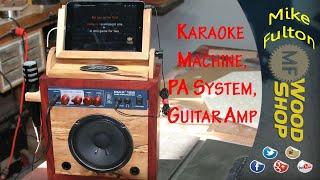 Karaoke Machine, Guitar Amp and PA System