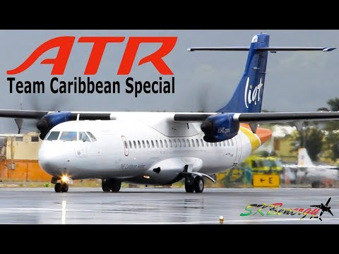 ATR's of the Caribbean !!! Liat, Bahamasair, Aerogaviota, Air Caraibes...(Team Caribbean)
