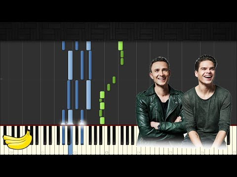 Lucas & Steve - Up Till Dawn || Piano Tutorial (Synthesia)