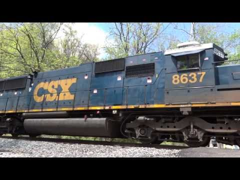 The Music of an EMD SD50 Idling