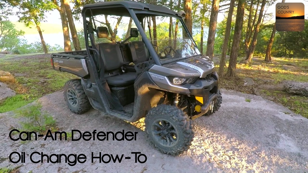 can am defender oil change how to youtube rh youtube com can am commander owners manual 2011 can am commander owners manual