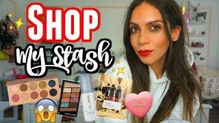 Shop My Stash | Drugstore + High End Makeup Goodies!