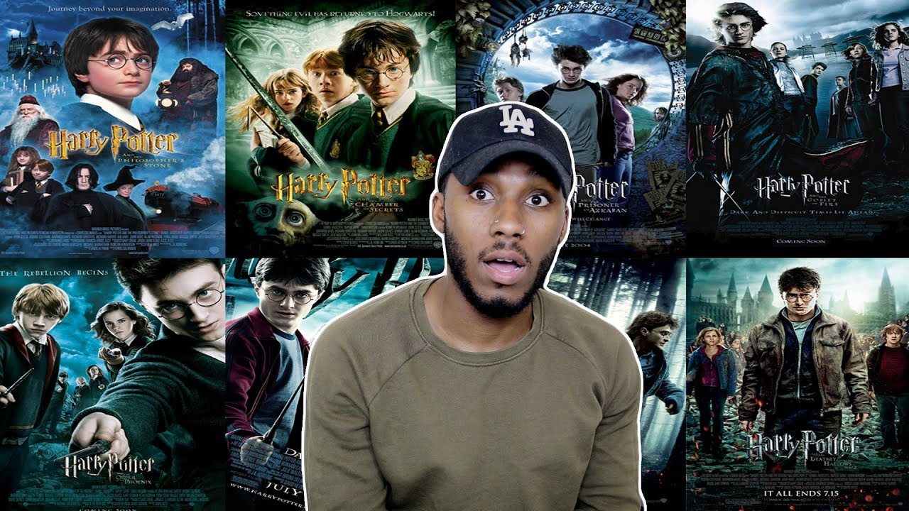 Watching Harry Potter For The First Time In One Day Youtube