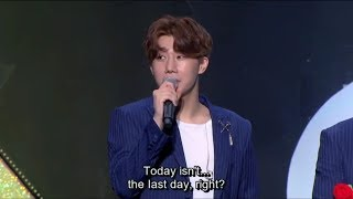 Video Infinite Sunggyu ending ment Infinite Rally 3 ENG SUB download MP3, 3GP, MP4, WEBM, AVI, FLV Agustus 2018