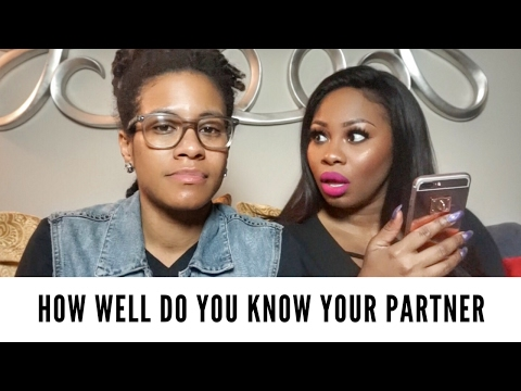 HOW WELL DO YOU KNOW YOUR PARTNER