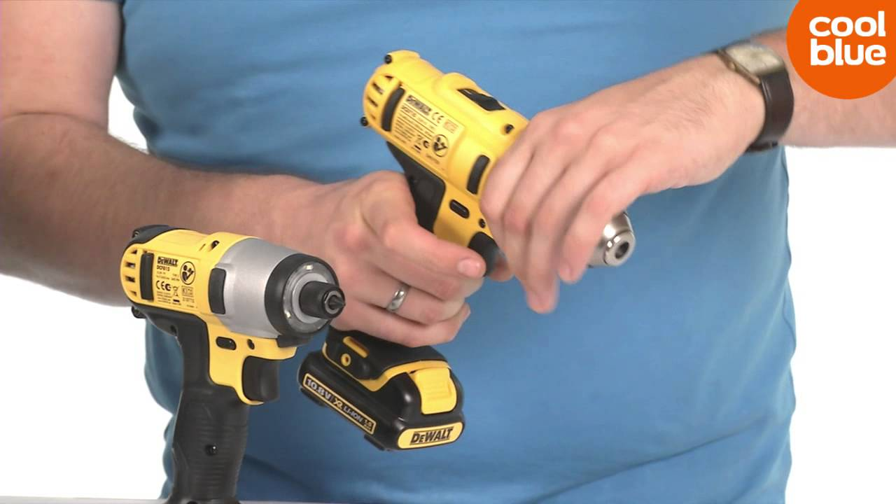 Kinzo Klopboormachine Dewalt 10 8v Combopack Dcz211s2t Accuboormachine Pack Productvideo Nl Be