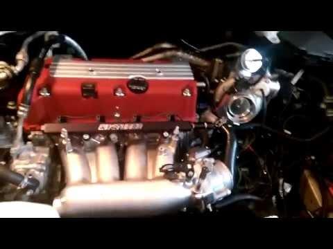 Acura RDX idle w/ BorgWarner EFR 7064 Turbo TwinScroll
