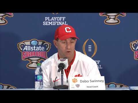 TigerNet: Alabama 24 Clemson 6: Dabo Swinney, Kelly Bryant, Clelin Ferrell postgame press conference