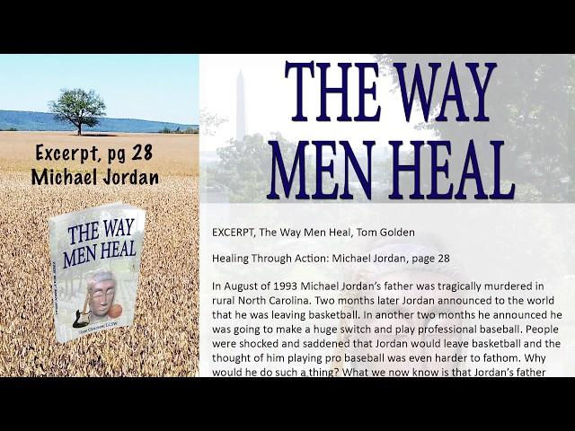 Excerpt, The Way Men Heal: Michael Jordan