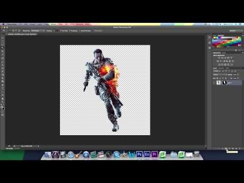 Photoshop CS6 Tutorial: How To Smoothen The Edges Of An Image