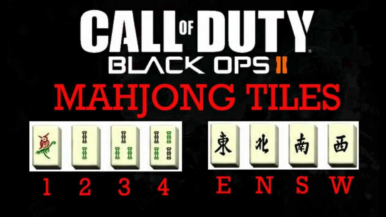 Black Ops 2 Zombies Die Rise How To Decipher Mahjong