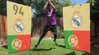 FIFA 18 PACK OPENING IN REAL LIFE! OMG RONALDO!