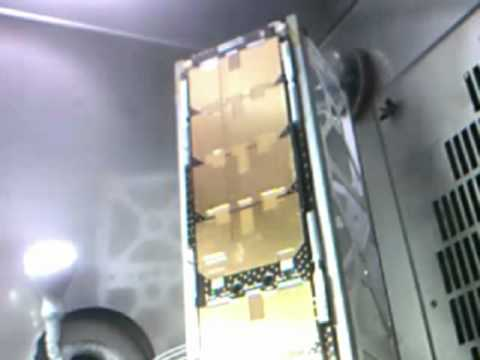 Double Deployable Cubesat Solar PanelEnvironmental Test