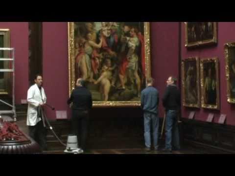 Großreinigung in den Staatlichen Kunstsammlungen Dresden