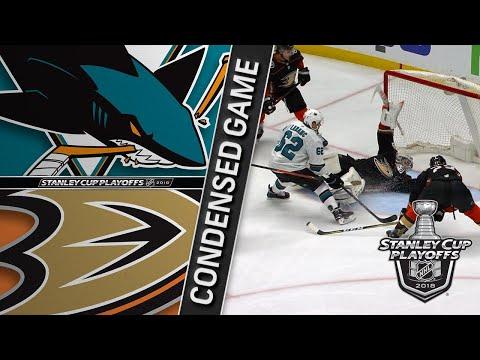 04/12/18 First Round, Gm1: Sharks @ Ducks