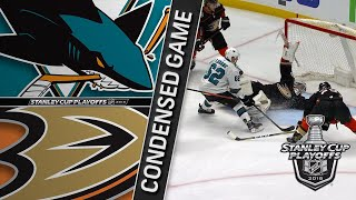 04/12/18 First Round, Gm1: Sharks @ Ducks