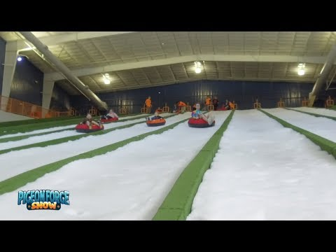 Pigeon Forge Snow | Indoor Snow Tubing All Year Long