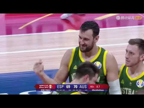 """Andrew Bogut yells """"Fxxk China."""" """"Fxxking FIBA."""" """"Cheating ass"""" and make money sign at refs"""