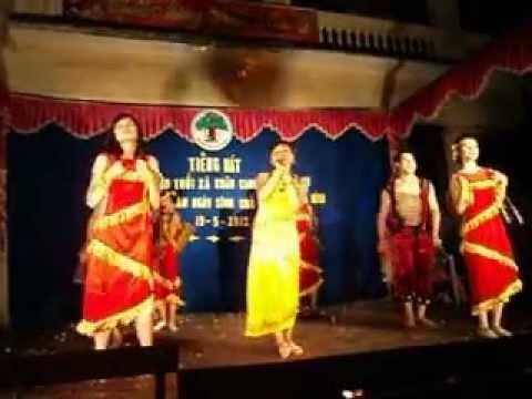 múa Hát Chiều Lên Bản Thượng - nhóm múa VĂn Thượng-Xuân Canh- Đông Anh- Hà Nội