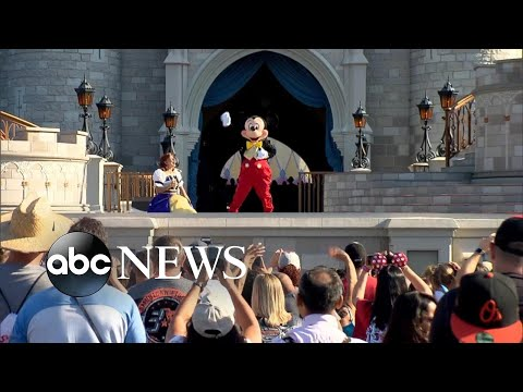 Disney theme parks, American landmarks close amid coronavirus l ABC News