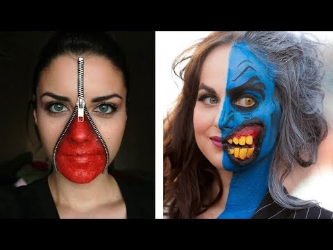 10 Creepiest Halloween Make-Up Ideas This Halloween
