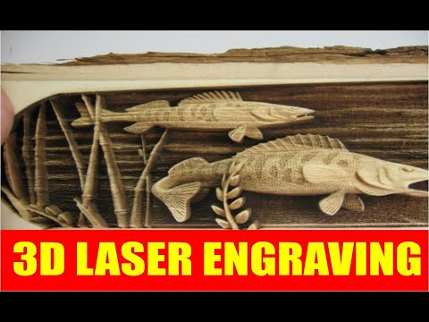 3d Laser Cutting And Engraving Youtube