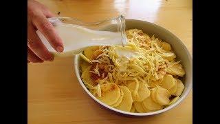 Заливаем картошку кефиром Вкусный рецепт с секретом