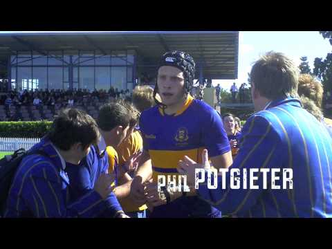 Toowoomba Grammar School 1st XV Rugby 2012 || Try's and Big hits Montage