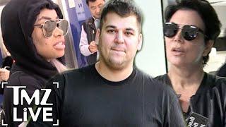 Kris Jenner Arrives To Save Rob Kardashian | TMZ Live