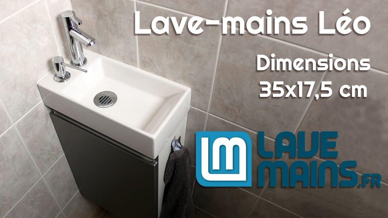 Comment Installer Un Lave Main Avec Meuble lave-mains léo 35 x 17,5 cm - lave-mains.fr