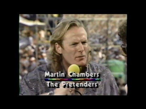 MTV Interview - Martin Chambers (MTV - Live Aid 7/13/1985)