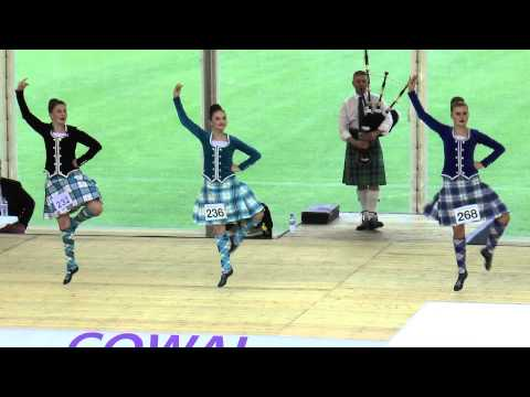 Cowal 2015 - Highland fling on Friday with Erin Blair