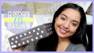 UNBOXING ♡ Boxycharm Vs. Glossybox (November 2014) Thumbnail