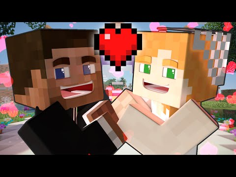 Thumbnail: If Steve and Alex Got Married - Minecraft