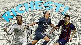 New top 15 richest footballers 2016 hd (you wont believe no.1!)
