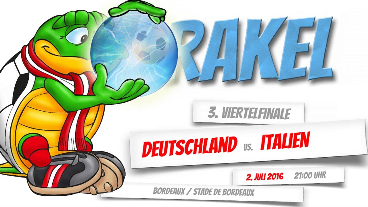 Deutschland Vs Italien Live