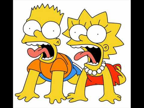 cartoon lisa simpson Bart and