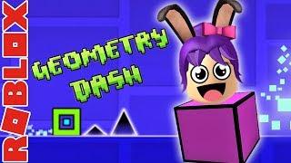 ROBLOX - Geometria Dash en roblox - Geometria Dash ROBLOX Edition