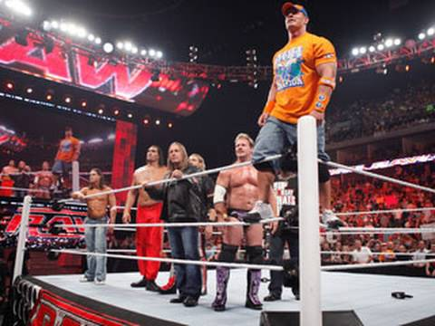 Raw: Cena assembles a team to combat The Nexus at SummerSlam